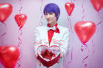 Tokyo Ghoul - Shuu Tsukiyama - Valentine's Day by Krisild