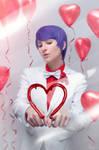 Tokyo Ghoul - Shuu Tsukiyama - Valentine's Day 2 by Krisild