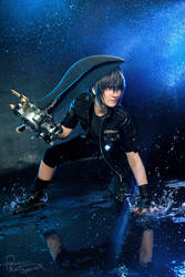 Final Fantasy XV - Noctis - Fight starts now by Krisild