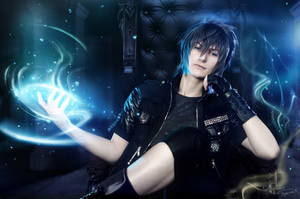 Final Fantasy XV - Noctis - Throne by Krisild