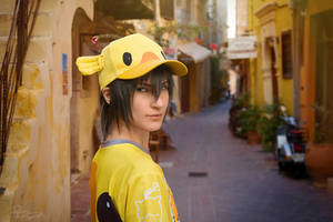 Final Fantasy XV - Noctis - Chocobo carnival by Krisild