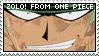 One Piece Stamp: 1