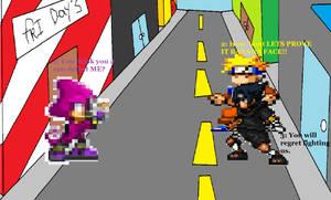 Naruto and Sasuke vs. Espio