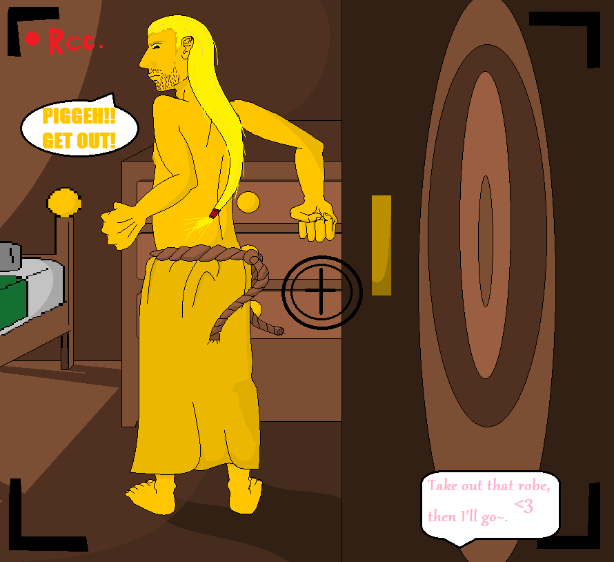 Piggeh the Pervert by Naru77Sonic