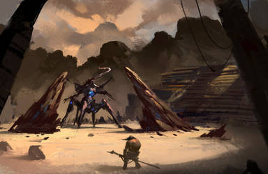 Battle Arena by annisahmad