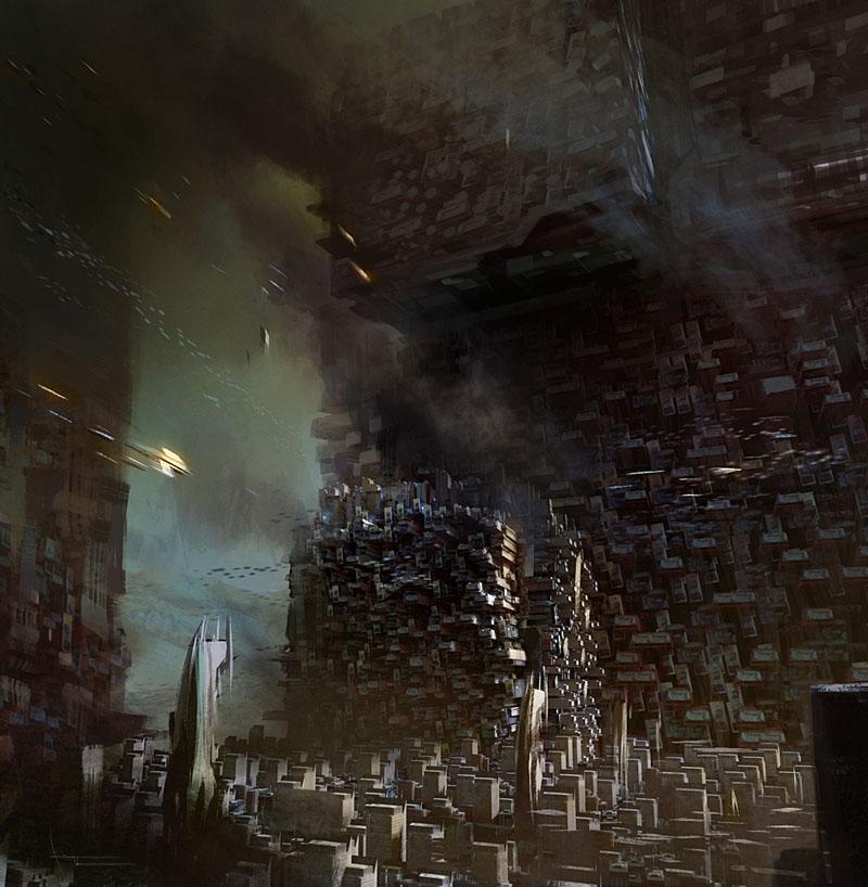 Grunge City by annisahmad
