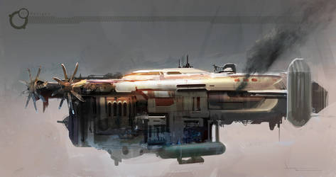 Airship1 by annisahmad