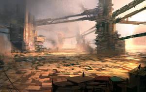 Slums by annisahmad