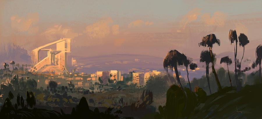 Sunset by annisahmad