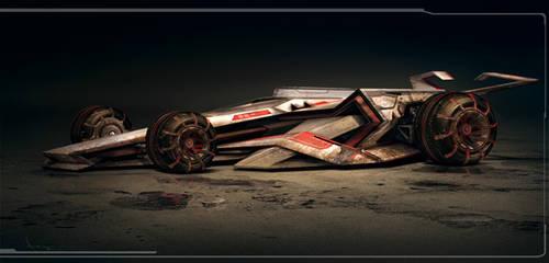 Racing vehicle by annisahmad