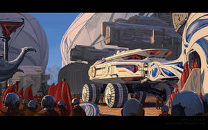 Syd Mead homage by annisahmad
