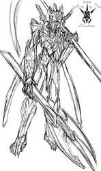 Internalized Selves - Ignara - The Warrior (line)