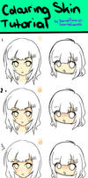 Skin Colouring Tutorial My style