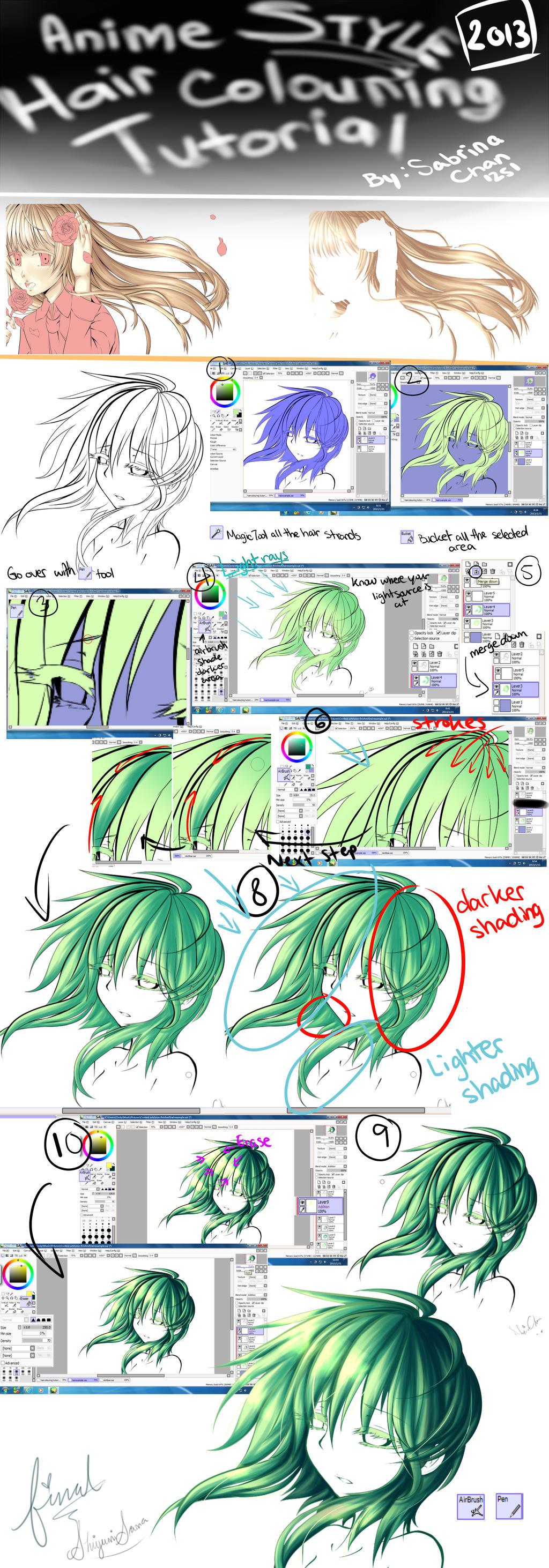 ShiyumiSama: Hair Colouring Tutorial by ShiyumiChan