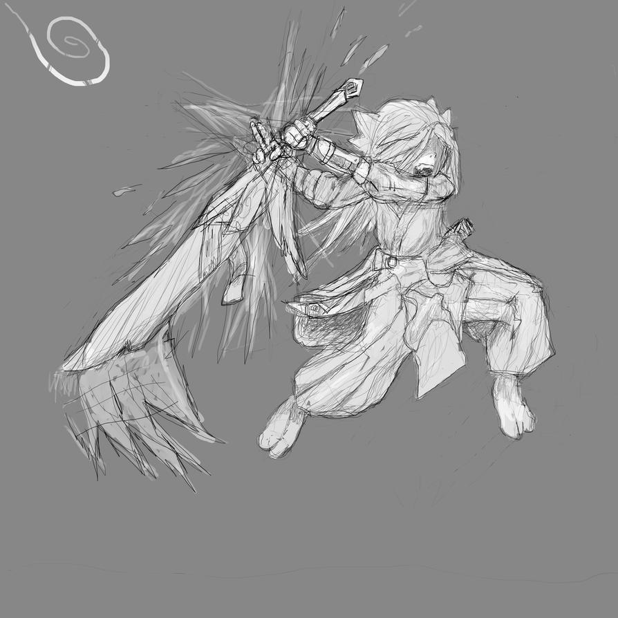 Inu - Fatal Duel by ninja1361