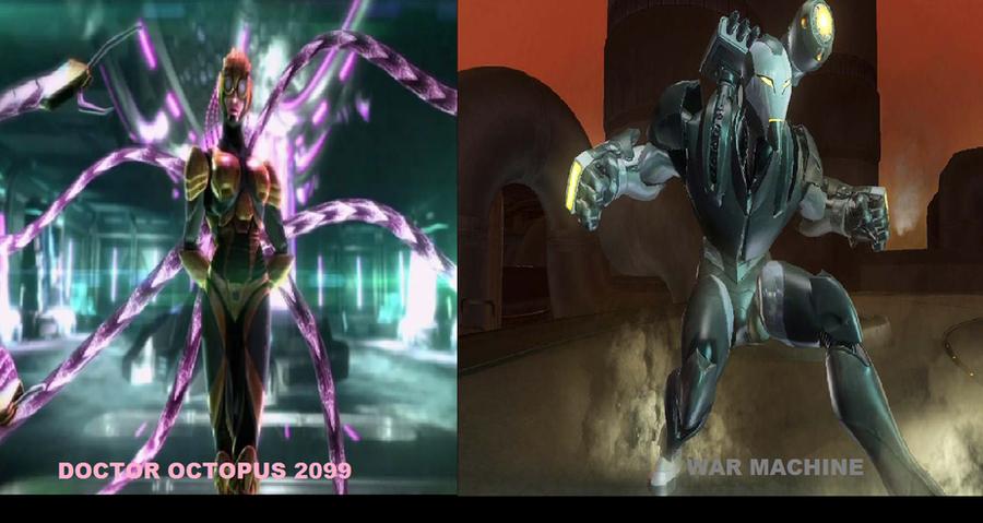 Doctor Octopus 2099 vs War Machine by Doctoroctopus2099fan ...