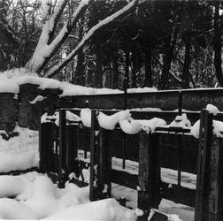 Dam at winter
