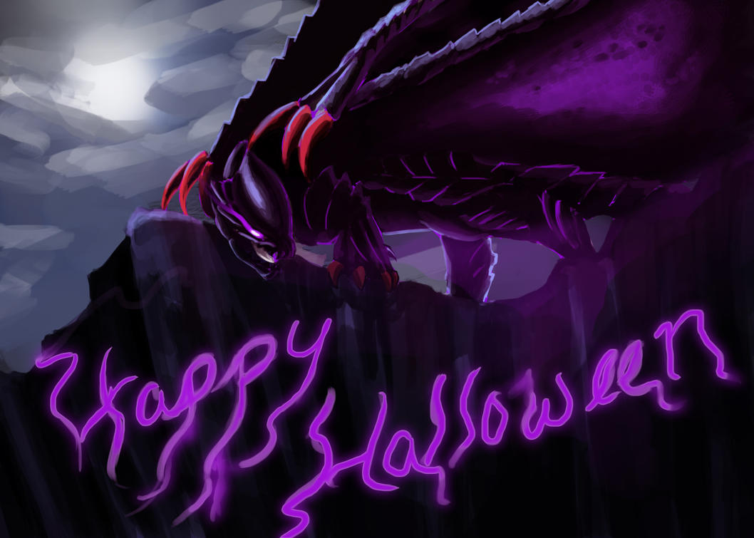Happy Halloween - Gore Magala by HappyHyperHaro