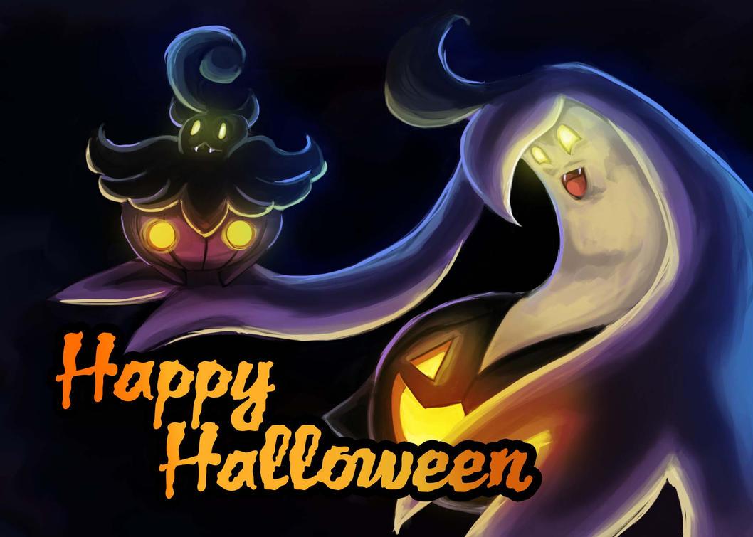 Halloween Card 2015 by HappyHyperHaro