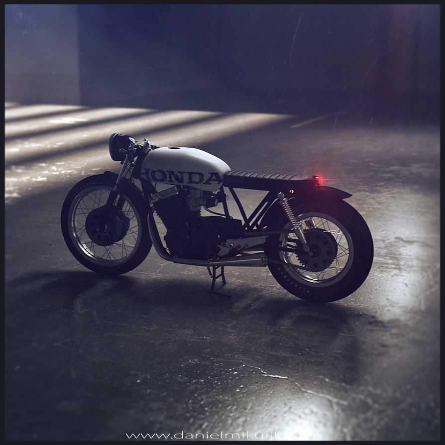 Bratstyle Motorcycle#13 by Cerebrate