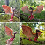 Miniature Flame Wyvern  (2 of 2)