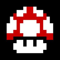 Sprite mushroom by EpochFlipnote