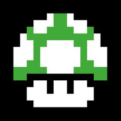 Sprite Green mushroom by EpochFlipnote