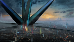 Endless City Cyberpunk
