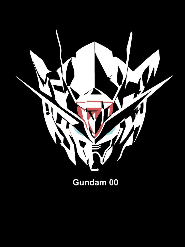 00 Raiser silhouette reverse by 00Quantize on DeviantArt