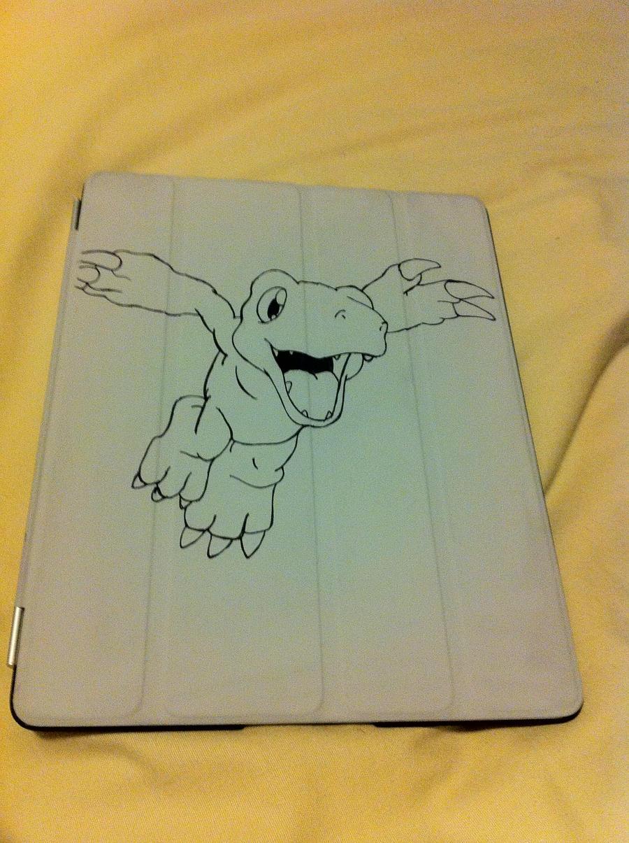 Agumon iPad Smart Cover
