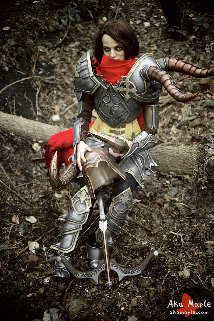 Inferno Demon Hunter by MorgothiaCosplay