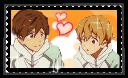 Stamp :: MakoNagi :: Free by Cuckooowlie