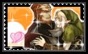 Stamp :: GanonLink :: The Legend Of Zelda by Cuckooowlie