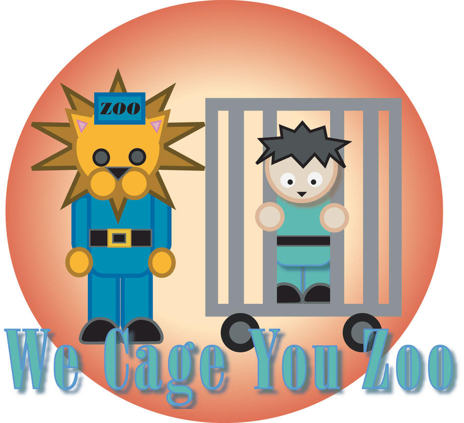 We Cage You Zoo by anniemae04