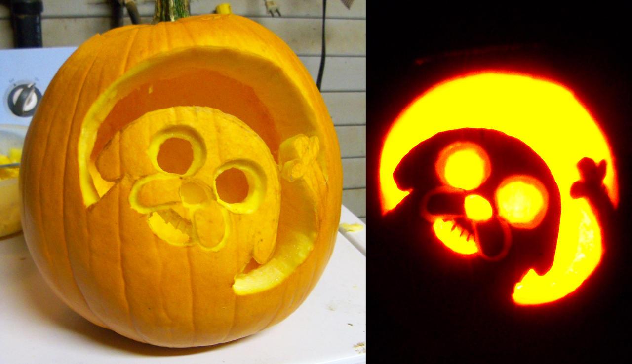 Jake pumpkin by anniemae on deviantart