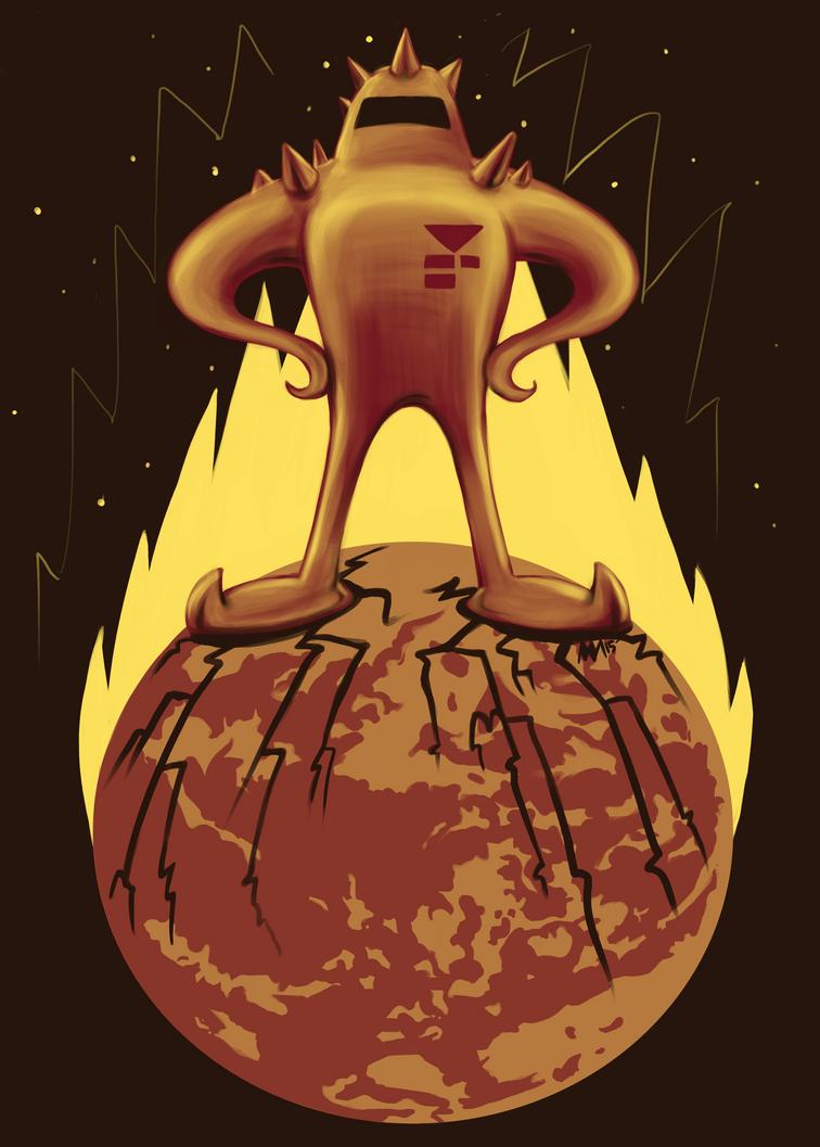 Starman Own Earth by anniemae04