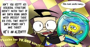 Sokolov's Prize: Sponge Alien