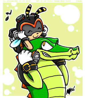 Charmy and Vector