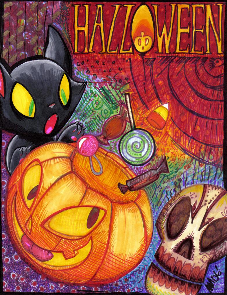 It's Halloween-Enjoy by anniemae04