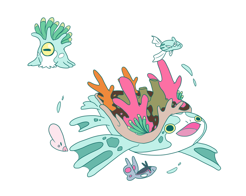 Coral Fakemon By Toldentops On Deviantart