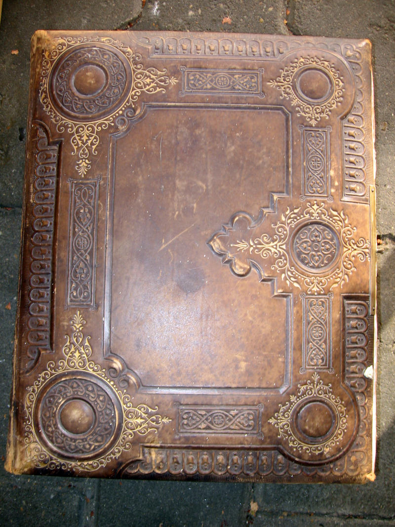 Beautiful Vintage Book Cover : Old book by meltys stock on deviantart