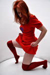 Red pin up 5