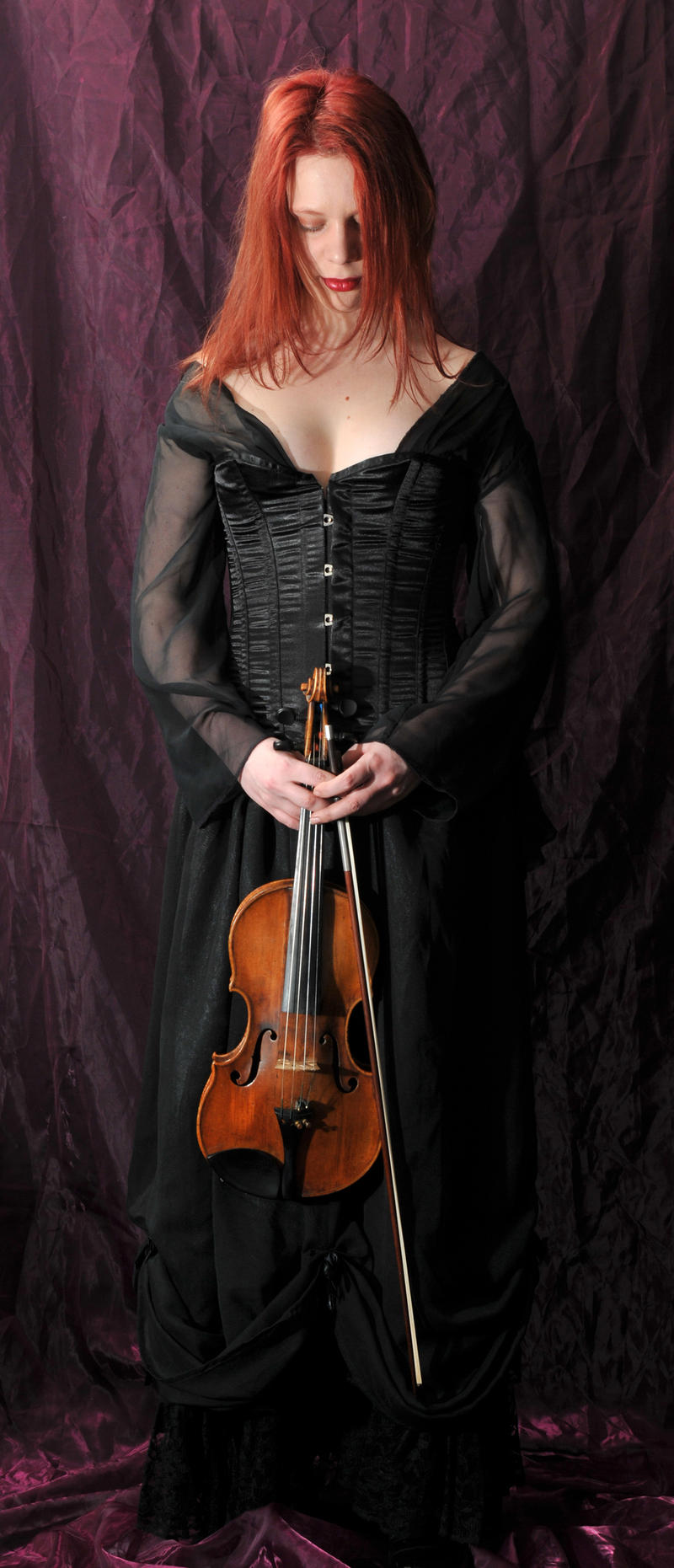 The violinist 11 by Meltys-stock