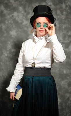 Steampunk teacher