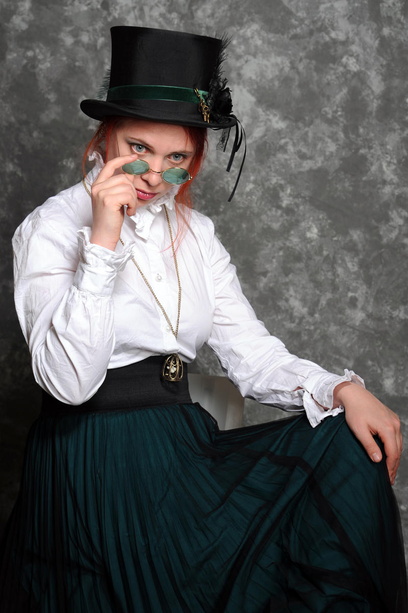 Steampunk teacher 45 by Meltys-stock