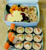 Flower Bento by mindfire3927
