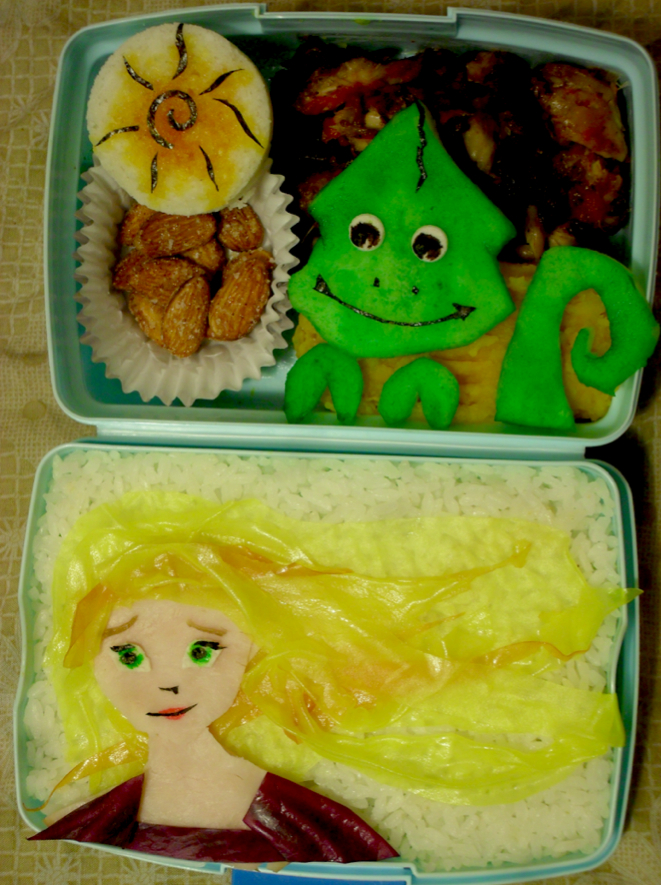 Tangled: Rapunzel Bento by mindfire3927