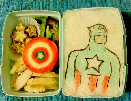 Captain America Bento