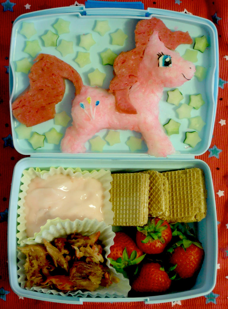 MLP: Pinkie Pie Bento by mindfire3927