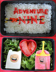 WHAT THE LUV: Adventure Time Anniversary Bento